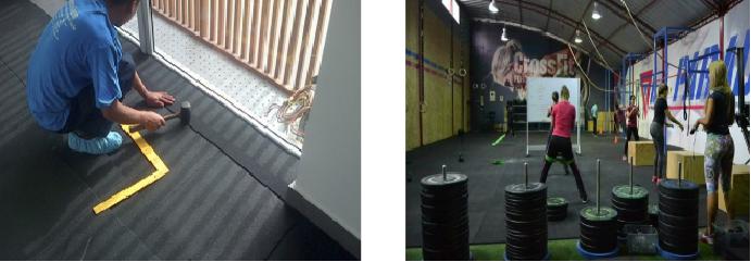 Zaneco solutions alfombras antifatiga y antideslizante - Baldosas de goma ...